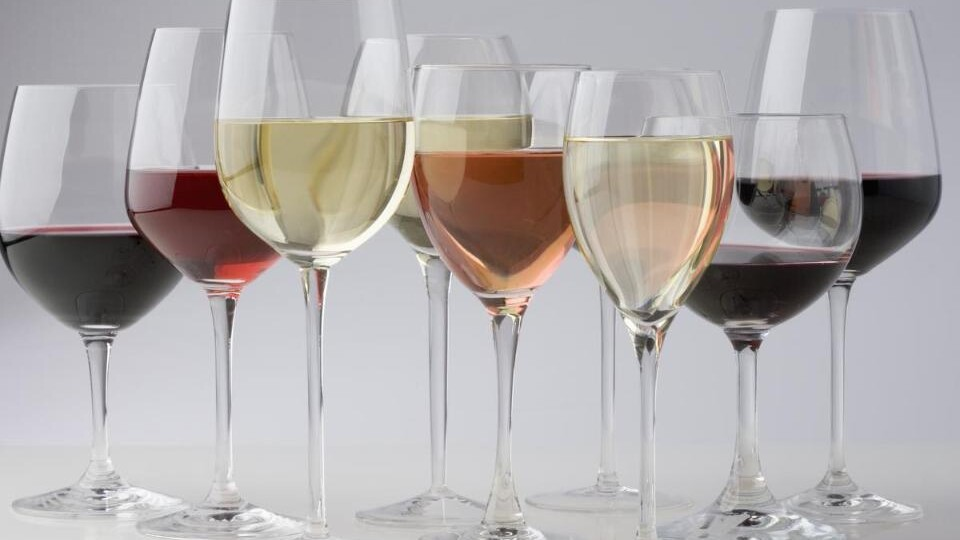 A glass of wine affects the taste